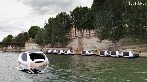SeaBubbles in Paris